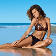 Swimwear Women Bikini Set 2021 biquini Female Swimsuit Beach Swimming Da... - $19.55