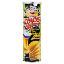 kinos Sour Cream Potato Chips 75g.(Pack of 1) - $27.00