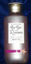 Bath and Body Works 'SEA SALT & LAVENDER ' Shower Gel Full Size - $16.78
