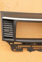 08-10 Mitsubishi Lancer Center Dash Navi Radio Screen Bezel Trim - ROCKFORD image 2
