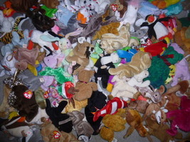 TY Beanie Babies the BULK assorted LOT mix 500 cat dog bear free shipping - $980.05