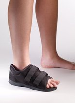 "Corflex Classic Post Op Shoe - Small - 10"" Long - Black - $21.99"