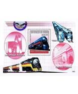 Trains de The USA = Classique Locomotives & Chicago Chemin Fer Station S... - $2.26