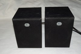 Pair of Logitech Multimedia 2.1 Speakers R-20 s-0153A1 - $31.18
