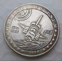 Rare Hobo Nickel 1898 Morgan Dollar Spaceship Apollo Space Eagle Casted ... - $11.99