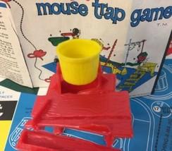 Original Mouse Trap Game Bucket Part 10 Ideal 1963 Clean No Damage - $5.93