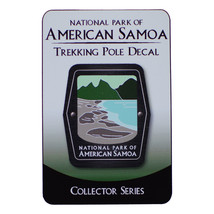 National Park of American Samoa Trekking Pole Decal - $3.56