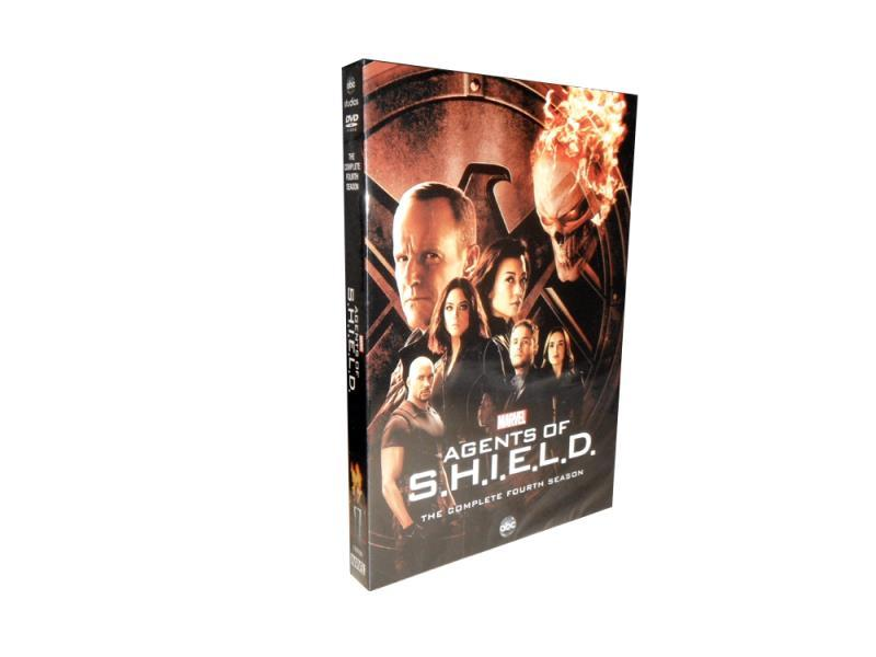 Agents of S.H.I.E.L.D. The Complete Season 4 DVD Box Set 5 Dsic Free Shipping