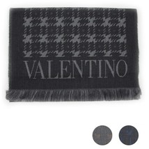Men Scarf wool VALENTINO Abstract 0511 - £65.96 GBP