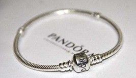 9.1     Clearance----Brand New Sterling Silver Pandora Bracelet with Bar... - $45.00