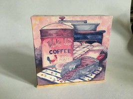 Cork-backed Coasters w/Container Legacy Publishing Group Set of 4 - $9.46
