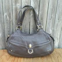 Cole Haan Pebbled Leather Brown Handbag Shoulder Bag - $52.00