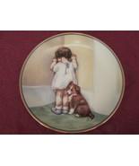 IN DISGRACE collector plate BESSIE PEASE GUTMANN Child's Best Friend HAM... - $19.99