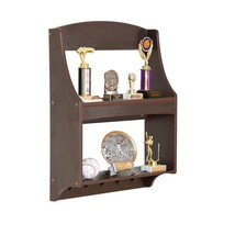 Guidecraft G87305 Kids Expressions Trophy Rack Medal Holder Wood Shelf E... - $34.95