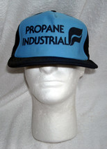 Mens Propane Industrial hat snap back Made in USA blue - $24.70