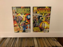 Warheads (Marvel Comics Uk) 1992-1993 Vf 10 Book Lot Includes Free Shipping - $9.50