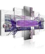 Konda Art Purple Painting Wall Art Modern Abstract Canvas HD Print Pictu... - $102.02