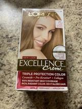 L'oreal Excellence Creme Permanent Hair Color #7G Dark Golden Blonde - $16.82