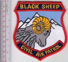 US Civil Air Patrol CAP Colorado Black Sheep Comp Squadron USAF AUX lg  - $10.99