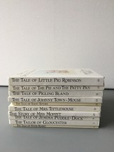Original Peter Rabbit Books by Beatrix Potter, 10 books, Frederick Warne... - $17.45