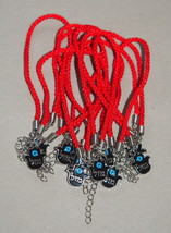 Kabbalah 10 pcs Lot Red String Hamsa Mazal Lucky Charm Evil Eye Bracelet Judaica image 1