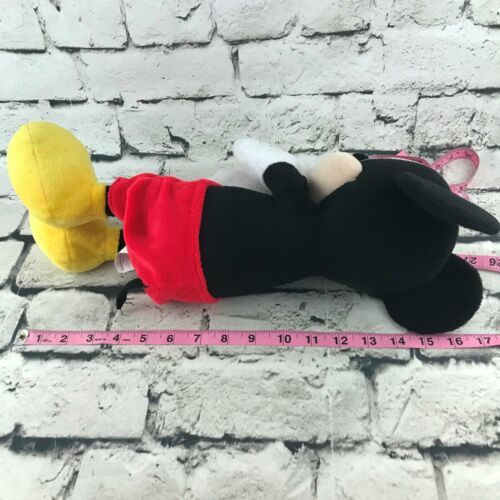 Disney Mickey Mouse Plush Classic Outfit Cartoon Collectors Stuffed Animal 16""