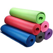 10mm Extra Thick Non-slip Yoga Mat Pad Exercise Fitness Pilates Sport 72... - $28.79