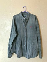 Mens Ralph Lauren Classic Fit Plaid Button Shirt Multicolor Long Sleeve ... - $18.66