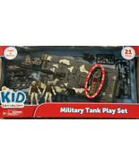 Kids Connection Military Tank Play Set 21 Pcs New Light & Sound - $19.15