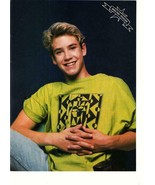 Mark Paul Gosselaar teen magazine pinup clipping Saved by the Bell Zack ... - $3.50
