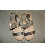 B.O.C Strappy Multi-Color Metallic Flat Sandals Size 10M Women's NEW - $36.00