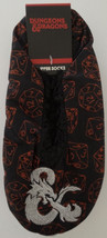 Dungeons & Dragons Ampersand Logo Adult Cozy Slippers Socks Nwt - $16.50