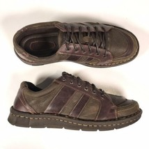 Born Women's Sz. 8.5 M/W Brown Leather Lace Up Oxford Sneakers - $28.04