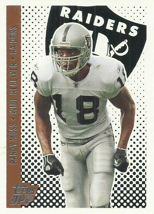 2006 Topps Draft Picks and Prospects #99 Randy Moss
