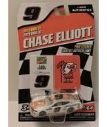 2020 CHASE ELLIOTT #9 LITTLE CEASARS NASCAR AUTHENTICS 1:64 W/TEAM STICK... - $9.85