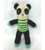 "12"" BlaBla Mini Bamboo the Panda Bear Sock Plush Toy Knit Sewn Face Peru... - $49.99"