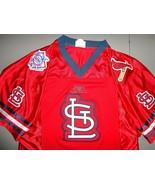 RARE Vtg SEWN St. Louis Cardinals Football Style MLB Baseball Jersey Men... - $48.50