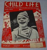 Vintage Child Life Magazine Circus May 1950 - $5.00