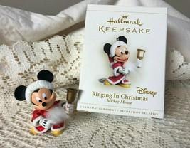 Hallmark Keepsake Ornament Ringing In Christmas 2006 Mickey Mouse - $11.30