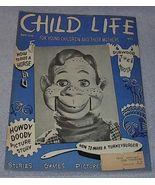 Vintage Child Life Magazine Howdy Doody November 1950 - $19.91