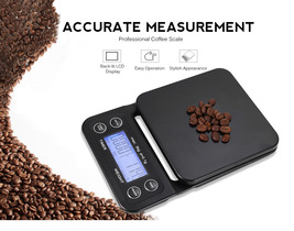 Digital Kitchen Food Coffee Weighing Scale + Timer - $41.95