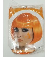 Orange Women's Bob Short Hair Wigs Party Cosplay Costume Orange Wig - $4.94