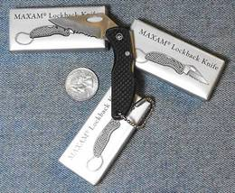 3 LockBack Keychain Knife Great for Emergency Survival - $5.41