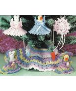 X190 Crochet PATTERN ONLY Easter Tree Pattern D... - $6.45