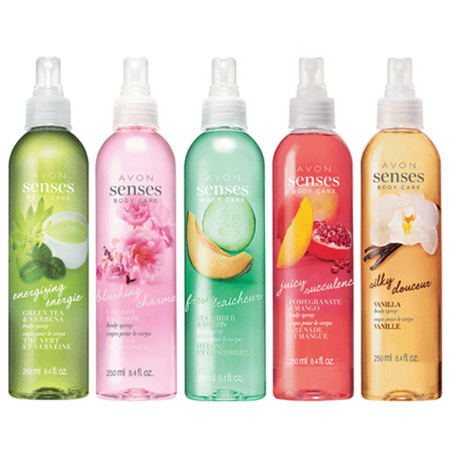 Avon Naturals Senses Body Spray Discontinued  - $20.00