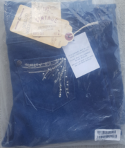 NWT Diane Gilman DG2 Womens' Size 2 Vintage Embellished Boot Cut Dark Bl... - $21.95