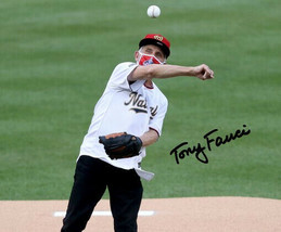 * Dr Anthony Tony Fauci Signed Photo 8X10 Rp Autographed Nationals First Pitch - $19.99