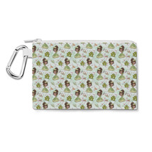 Princess And Her Frog Disney Inspired Canvas Zip Pouch - $14.99+