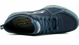 NEW Men's Skechers Burst Athletic Slip-On Memory Foam Shoes Black or Navy image 12