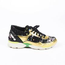 Chanel Tweed Leather Sneakers SZ 39 - $405.00